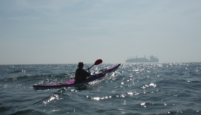 Sea Kayaking in East Anglia