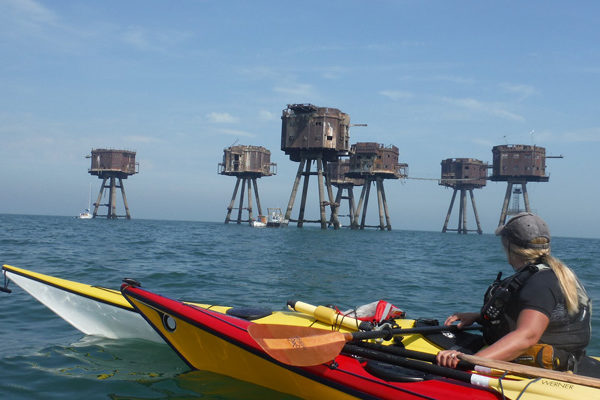 Sea Kayaking at Red Fort Sands