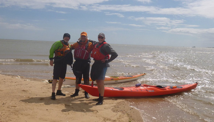 Sea Kayaking in Essex