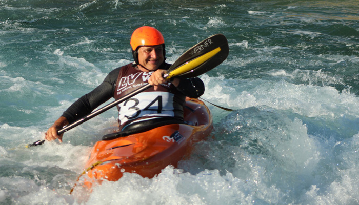Clive Marfleet at Lee Valley White Water Center